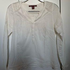Comptoir des Cotonniers white blouse Size small
